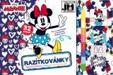 JIRI MODELS Razítkovánky Disney Minnie Mouse kreativní sešit s aktivitami