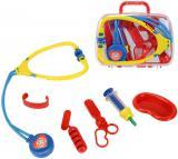 SIMBA Doktorský kufřík průhledný plastový set s doplňky pro děti 2 druhy