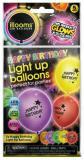 Balónek nafukovací narozeninový svítící set 5ks na baterie LED Světlo
