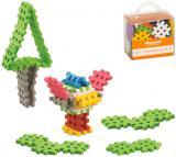 MARIOINEX Baby Mini Wafle stavebnice mřížka měkké ohebné dílky 35ks