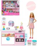 MATTEL BRB Cukrářství kreativní set panenka Barbie s modelínou a doplňky