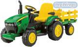 PEG PÉREGO Traktor  JOHN DEERE GROUND FORCE 12 V elektrický traktor pro děti