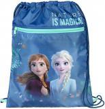 Sáček na bačkory Ledové Království 2 (Frozen) 32x41cm pytlík na přezůvky