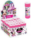 Bublifuk Disney Minnie Mouse 55ml dětský bublifukovač s kuličkovým labyrintem