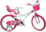 """ACRA Dětské kolo Dino Bikes Disney Minnie dívčí 14"""" balanční kolečka"""