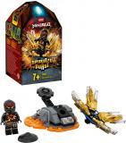 LEGO NINJAGO Spinjitzu úder – Cole 70685 STAVEBNICE
