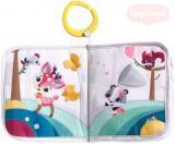 TINY LOVE Baby závěsná knížka se zvířátky Tiny Princess Tales pro miminko