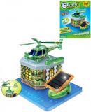 STAVEBNICE Vrtulník na solární pohon Greenex set 19 dílků v krabici