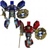Robocarz 2v1 sportovní auto s přeměnou 1:16 transrobot 2 barvy