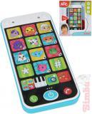 SIMBA Baby chytrý telefon můj první smartphone na baterie Světlo Zvuk