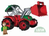 LENA Truxx Traktor 33cm s figurkou řidič (vozítko na písek)