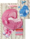 3D Taška dětská dárková 3D Baby 18x24cm 4 druhy karton
