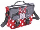 Kabelka koženková brašna přes rameno 19x17cm Disney Minnie Mouse aktovka