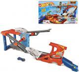 MATTEL HOT WHEELS Rychlík herní set dráha s autíčkem a 2 vlaky plast