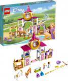 LEGO DISNEY PRINCESS Královské stáje Krásky a Lociky 43195 STAVEBNICE