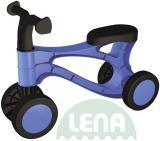 LENA Odrážedlo Rolocykl modrý 49cm odtrskovadlo plastové