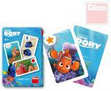 DINO Hra karetní Černý Petr Hledá se Dory 25 karet v krabičce