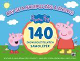 JIRI MODELS Album samolepky Peppa Pig Bav se a nalepuj zas a znovu!