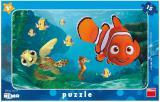 DINO Puzzle deskové 15 dílků Hledá se Nemo a želva skládačka 25x15cm