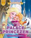 JIRI MODELS Samolepková knížka Disney Princezny Paláce Princezen