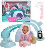 SIMBA Panenka Evička 12cm Arctic Friends zimní obleček set s doplňky v krabici