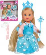 SIMBA Panenka Evička 12cm Ledová princezna set s doplňky v krabici