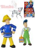 SIMBA Požárník Sam figurka plastová 1.serie 12 druhů v sáčku