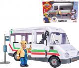 SIMBA Požárník Sam Trevorův autobus 21cm funkční prvky plast