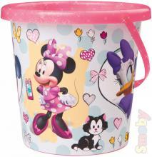 SMOBY Baby kyblík holčičí 17x16cm Minnie Mouse střední na písek