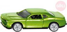 SIKU Auto osobní Dodge Challenger SRT Hellcat zelený model kov