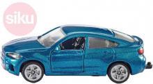 SIKU Auto BMW X6 modrá model kov 1409