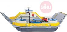 SIKU Trajekt pro přepravu aut 1:50 model set se 2 auty kov 1750