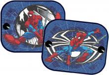 Stínítka dětská do auta Spiderman 44x36cm clony na boční sklo 1 pár