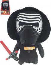 PLYŠ Kylo Ren mluvící postavička Star Wars VII (Hvězdné války) na baterie Zvuk
