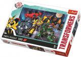 TREFL PUZZLE Transformers Autoboti skládačka 41x27,5cm 100 dílků