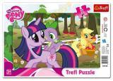 TREFL PUZZLE Rámkove MLP  My Little Pony 15 dílků
