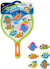 YG Sport Hra rybičky potápěcí set 6ks s podběrákem do vody