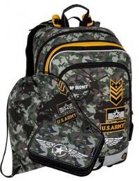 Klučičí školní batoh v setu motiv army BAGMASTER Malý SET ALFA 8 D - zvětšit obrázek