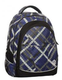 Studentský batoh FUNNY 0115 A BLUE - Výprodej - zvětšit obrázek