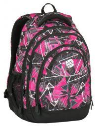 Dívčí studentský batoh Bagmaster ENERGY 7 F PINK/BLACK - zvětšit obrázek