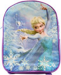 Batoh dětský Frozen (Ledové Království) třpytivý Fialový 25x11x32cm - zvětšit obrázek