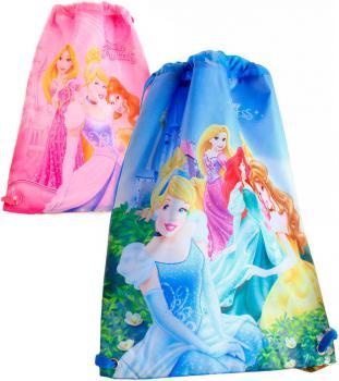 Sáček dětský batoh Princezny pytlík 2 druhy pro holky - zvětšit obrázek