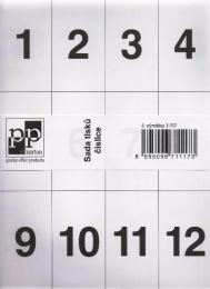 Školní číslice - zvětšit obrázek