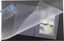 Stolní podložka 60x40cm odklápěcí strana modrá - zvětšit obrázek