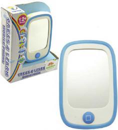 Baby telefon zrcátko na baterie Světlo Zvuk plast pro miminko - zvětšit obrázek