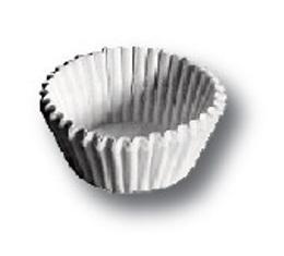 Košíčky cukrářské 25x18 mm / 200 bílé - zvětšit obrázek