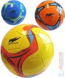 ACRA Kopací dětský míč Brother barevný vel. 5 fotbalový 4 barvy - zvětšit obrázek