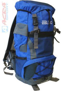 ACRA Batoh turistický 55l modrý 2 komory 30x22x56cm Brother BA55 - zvětšit obrázek