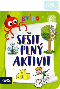 ALBI Sešit plný aktivit 6+ Kvído interaktivní úkoly pro děti - zvětšit obrázek