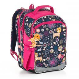 Školní batoh Topgal CHI 876 D - Blue - zvětšit obrázek